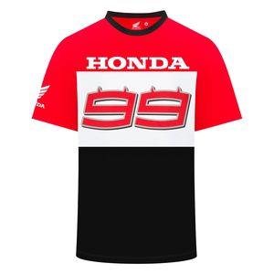 T-Shirt manches courtes CLASSIC HRC - JORGE LORENZO  Grey White Red