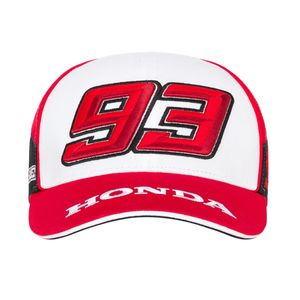 Casquette BASEBALL HRC - MARC MARQUEZ  Grey White Red