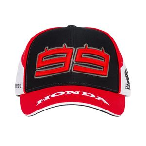 Casquette BASEBALL HRC - JORGE LORENZO  Grey White Red