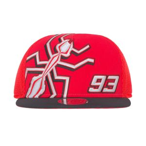 Casquette FLAT TRUCKER  Red