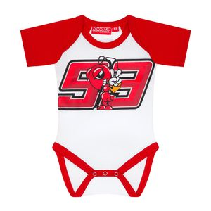 Pyjama MARC MARQUEZ BABY  White Red