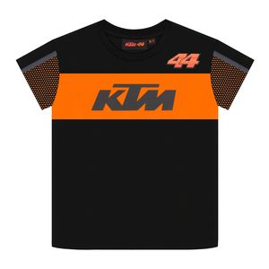 T-Shirt manches courtes KTM - POL ESPARGARO - KID  Black Orange