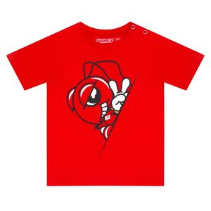 T-Shirt manches courtes MARC MARQUEZ BABY  Red