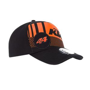 Casquette BASEBALL KTM 44 POL ESPARGARO  Black Orange