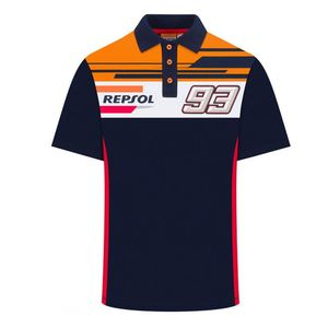 Polo REPSOL - MARC MARQUEZ  Navy Orange Red