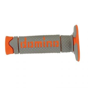 Poignées de guidon OFF-ROAD FULL GRIP  Gris/orange