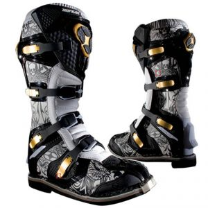 Bottes Cross No Fear Trophee Black Tatto