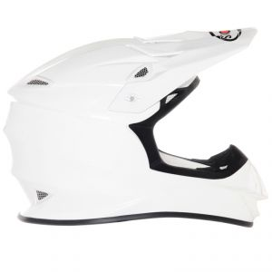Casque cross MR JUMP - PLAIN - WHITE 2021 White