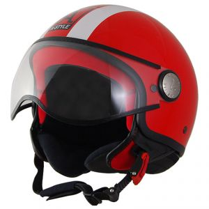 Casque A-style A-style Rouge Brillant