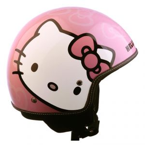 Casque Hello Kitty Candy Rose Blanc