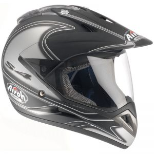 Casque cross QUAD S4 DECO ROUND 2008