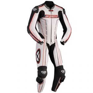 Combinaison ZENITH LEATHER SUIT  Rouge