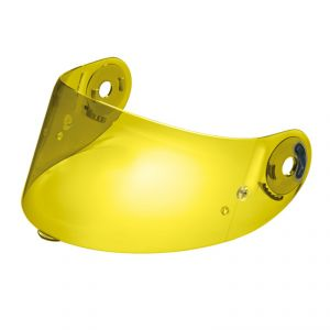 Ecran casque GP TECH / GRID (RACE X)  Jaune