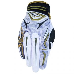 Gants Cross Shot Destockage Flexor Hiro Blanc 2011