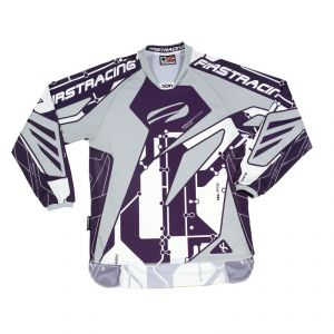 Maillot Cross First Racing Scan Violet