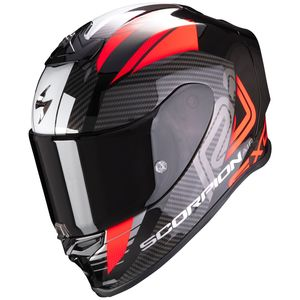 Casque Scorpion Exo EXO-R1 AIR - HALLEY Metal Black Red