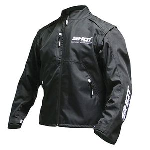 Veste enduro CONTACT ASSAULT - BLACK WHITE 2021 Black White