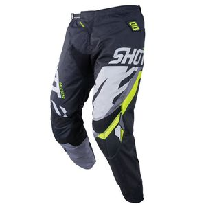 Pantalon cross CONTACT SCORE -BLACK GREY NEON YELLOW 2019 Black Grey Neon Yellow