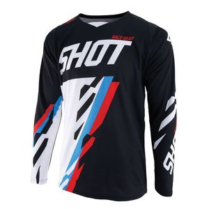 Maillot cross CONTACT SCORE -BLACK BLUE RED 2019 Black Blue Red