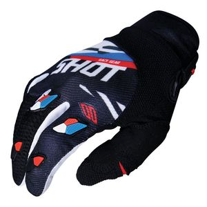Gants cross CONTACT SCORE -BLACK BLUE RED 2019 Black Blue Red