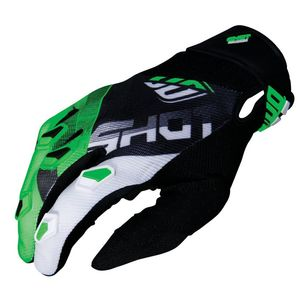 Gants cross DEVO ULTIMATE - BLACK NEON GREEN 2019 Black Neon Green