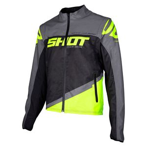 Veste enduro SOFTSHELL LITE - GREY NEON YELLOW 2020 Grey Neon Yellow