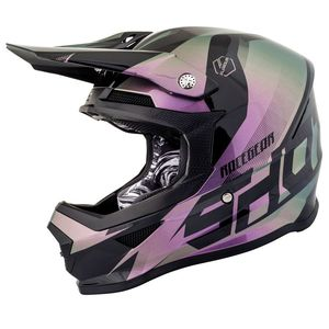 Casque cross FURIOUS KID ULTIMATE - CHAMELEON GLOSSY  Chameleon