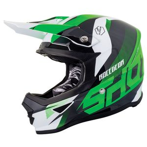 Casque Cross Shot Furious Kid Ultimate - Neon Green Glossy 2019
