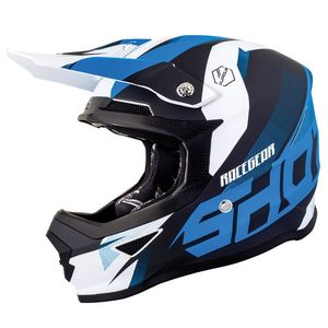 Casque Cross Shot Furious Kid Ultimate - Blue Glossy 2019