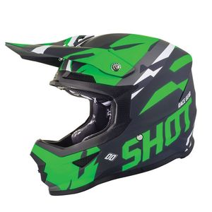 Casque cross FURIOUS SCORE - NEON GREEN MATT 2019 Neon Green Matt