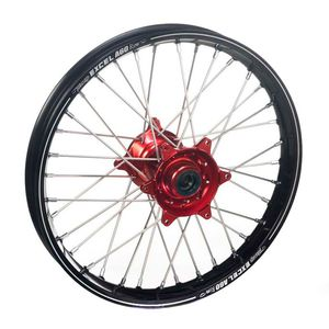 Roue A60 avant dimension 21x1.60 noir/rouge
