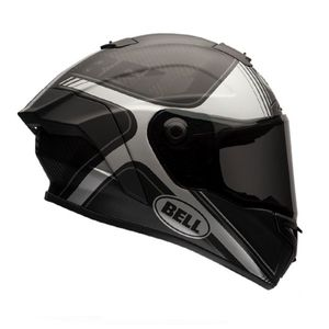 Casque Bell Race Star - Tracer Black/white Mat