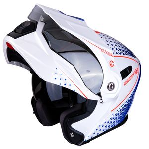 Casque ADX-1 - HORIZON  Pearl White Red Blue
