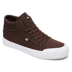 Chaussures EVAN SMITH HI TX  Chocolate