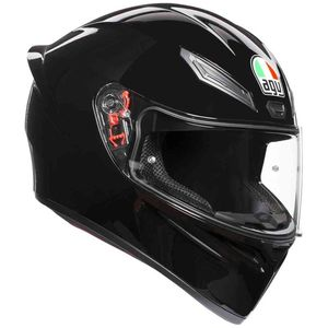 Casque K-1 SOLID UNI  Black