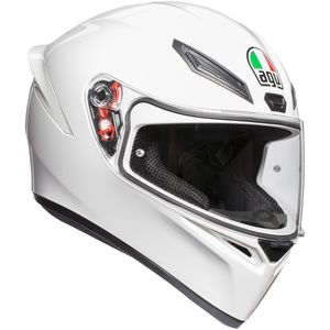 sale retailer e7131 91abc ... Casque K-1 SOLID UNI White