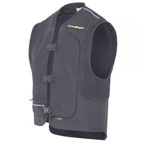 Gilet Airbag SHIELD - BLACK  Noir