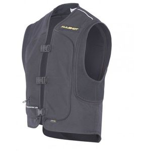 Gilet Airbag SHIELD - RETRO  Jaune Fluo