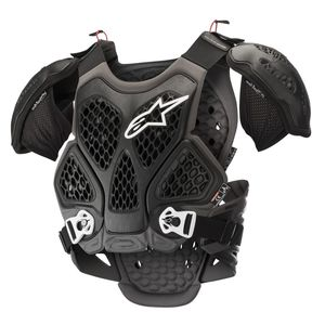 Plastron BIONIC CHEST PROTECTOR - BLACK COOL GRAY 2021 Black/gray