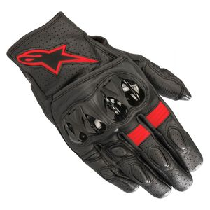 Gants CELER V2  Black/Red