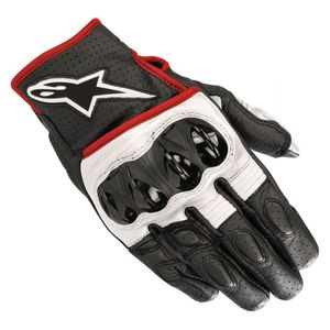 Gants CELER V2  Black/White/Red