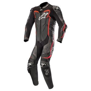 Combinaison GP PLUS CAMO 1 PIECE  Black Camo Red Fluo