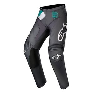 Pantalon cross RACER - LIMITED EDITION - INDY VICE PANT 2017 Gray Pink Turquoise