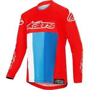 Maillot Cross Alpinestars Youth Racer Venom Red White Blue 2019