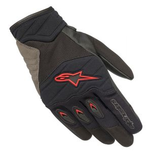 Gants SHORE  Black/Red