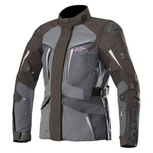 Blouson STELLA YAGUARA DRYSTAR compatible TECH-AIR  Black Dark Gray Mid Gray