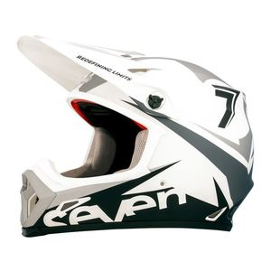 Casque Cross Seven Mx-9 Mips Ignite Blanc Mat 2018