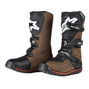 Bottes Cross Alpinestars Tech-t Brown 2018