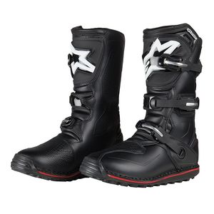 Bottes Cross Alpinestars Tech-t Black Red 2018