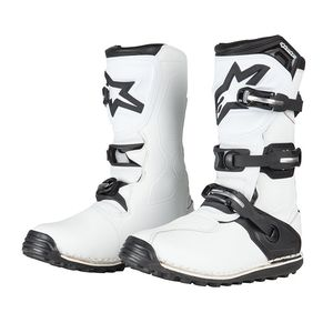 Bottes Cross Alpinestars Tech-t White Black 2018
